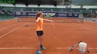 Тренажер для подачи в теннисе