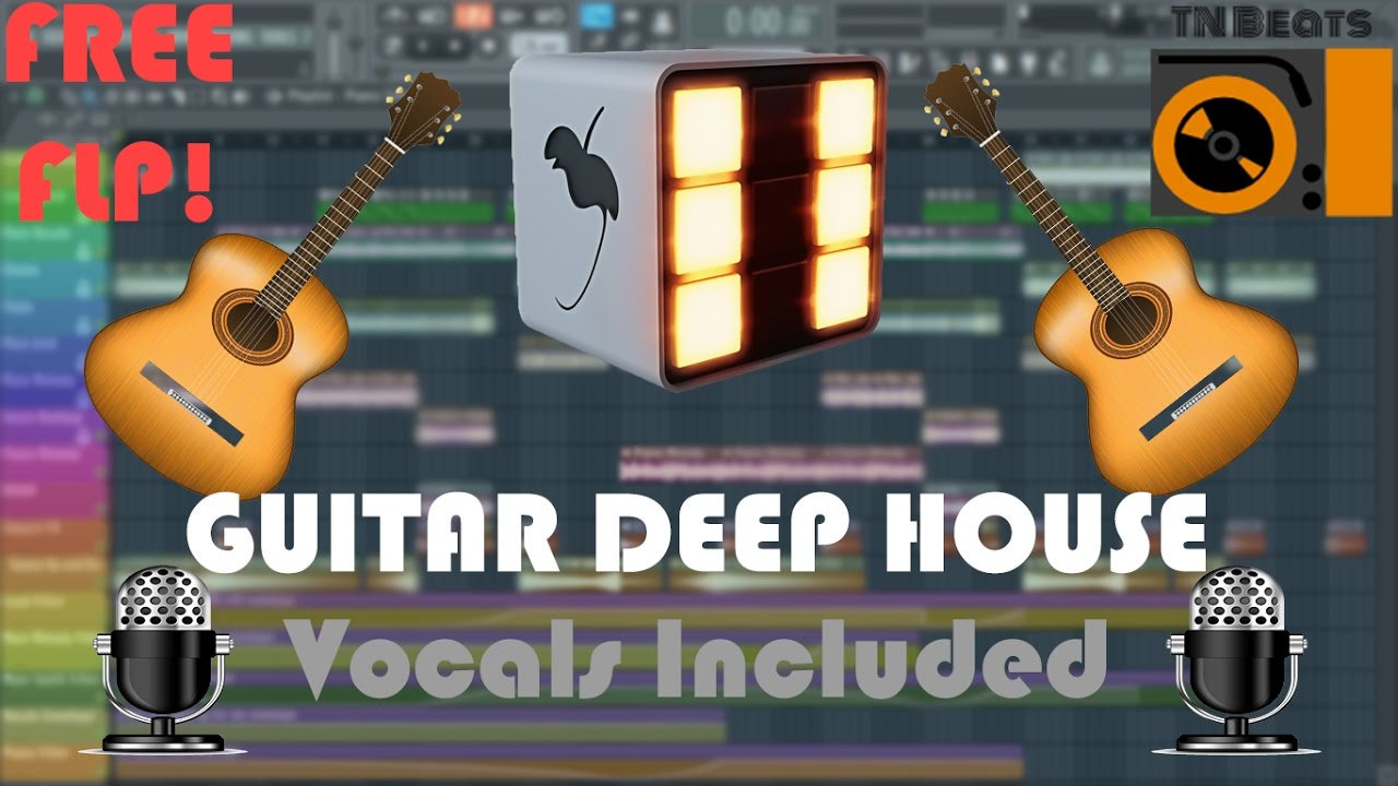 How to make Guitar Deep House music in FL STUDIO 12 | (+FREE FLP)