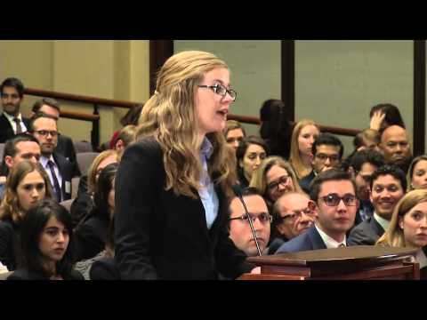The 2015 Ames Moot Court Competition - Final Round