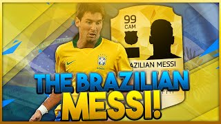 FIFA 16 - THE BRAZILIAN MESSI IS INSANE!!! - KING OF THE DRAFT - FIFA 16 ULTIMATE TEAM