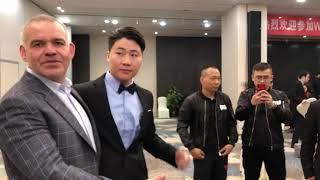 WBA Pres Mendoza Mobbed By China Boxing Officials