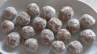 Миндальные конфеты с имбирем. Полезно и по-домашнему вкусно.