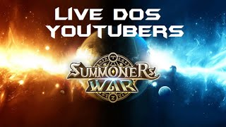 Live dos Youtubers ! Arena Summoners War