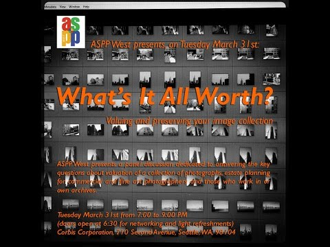 "ASPP Seattle ""What's It All Worth?"" Part 1"