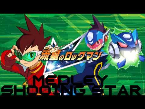 Megaman StarForce - Shooting Star FULL MEDLEY MIX (Operate Shooting Star/Rise As A Hero)