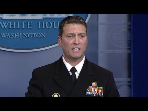 White House doctor on Trump's cognitive exam