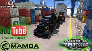 American Truck Simulator MP. crazy day ( Elite Trucking )