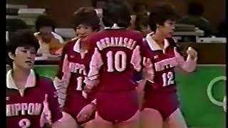 1988  女子バレーボール 日本vs東ドイツ2/2