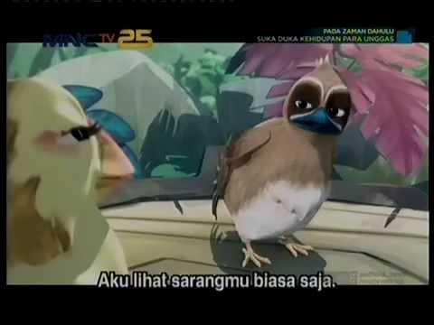 BURUNG PUYUH DAN BURUNG TEMPUA PADA KARTUN ZAMAN DAHULU/MNC TV