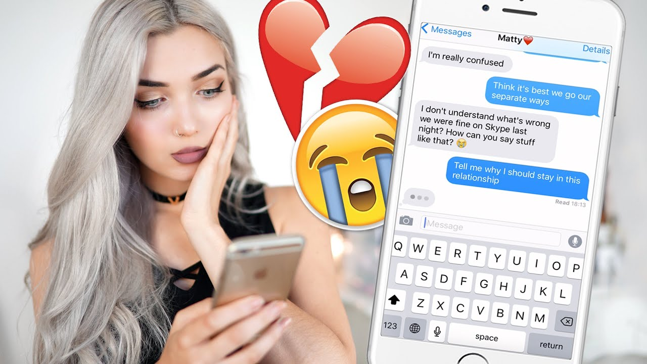 SONG LYRIC PRANK ON MY BOYFRIEND!!! - YouTube