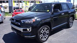 2015 Toyota 4Runner Limited 4WD Walkaround, Start up, Tour and Overview