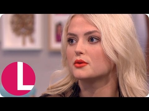 Coronation Street's Lucy Fallon and Chris Harper Discuss the Grooming Storyline | Lorraine