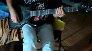 cradle of filth-cthulhu dawn guitar cover