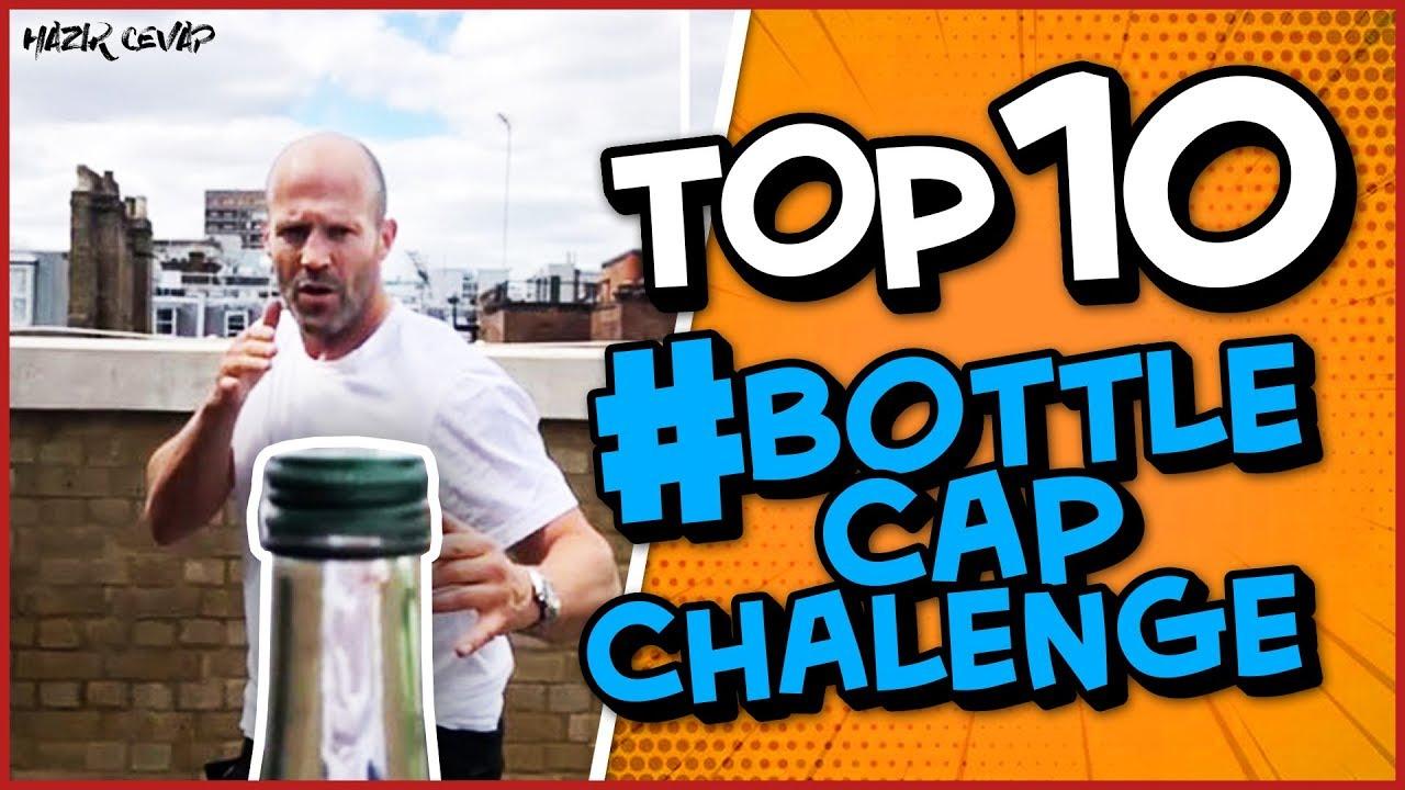 EN İYİ #BottleCapChalenge DERLEME | TOP 10