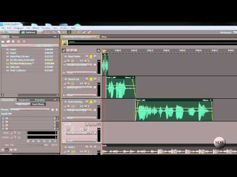Audition CS5.5 Tutorial - Backing Up A Step - 11