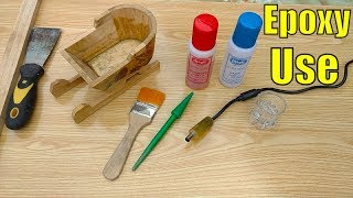 So Many Uses of Epoxy || How to Mix and Use Epoxy Resin+hardener