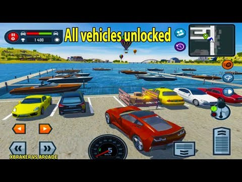 Car Driving School Simulator Full Game ( All Vehicles Unlocked & All Levels ) Android Gameplay 2018