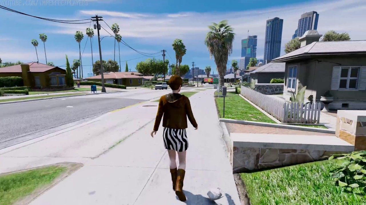 GTA NEW ULTRA REALISTIC GRAPHICS MOD K YouTube - Guy takes pictures showing just realistic grand theft auto v looks