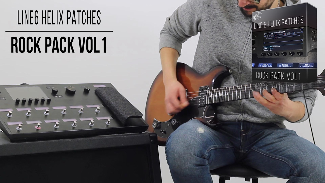 Line 6 Helix Rock Pack vol 1