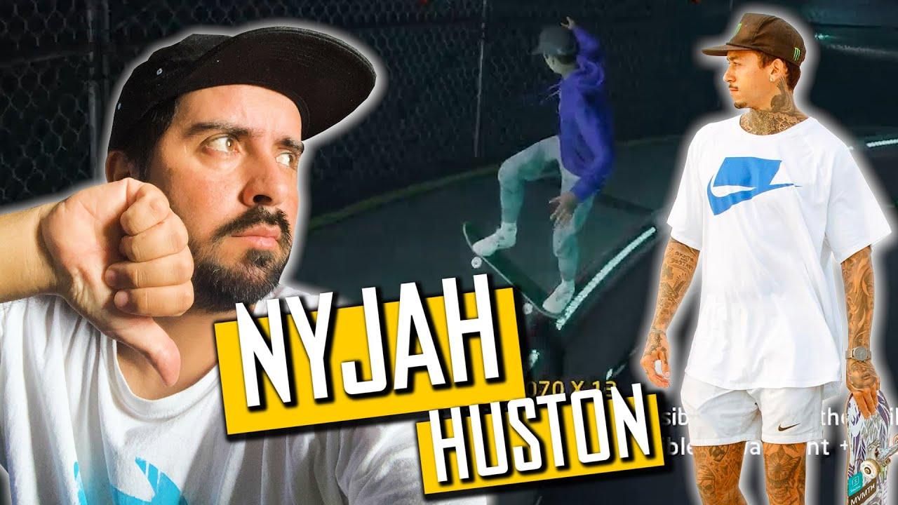 JOGUEI COM NYJAH HUSTON E DEU RUIM! Tony Hawk Pro Skater 1+2