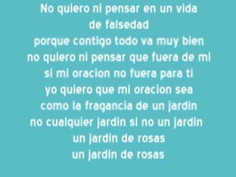 karaoke annette moreno jardin de rosas youtube