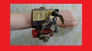 【DIY】【オートマタ】時間を自動筆記する腕時計を作ったった【スチームパンク】 Steampunk Plotclock thumbnail