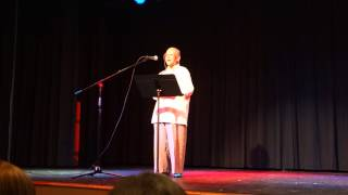 Nikki Giovanni reads Ego Tripping at the Artemis Re-launch