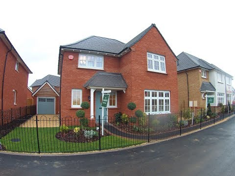 Redrow Homes  - The Cambridge @ Wendlescliffe, Bishops Cleeve, Gloucestershire by Showhomesonline