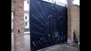 Автоматические откатные ворота(Автоматические откатные ворота. Заказывайте на http://www.stalcomplect.ru., 2013-11-24T08:16:11.000Z)