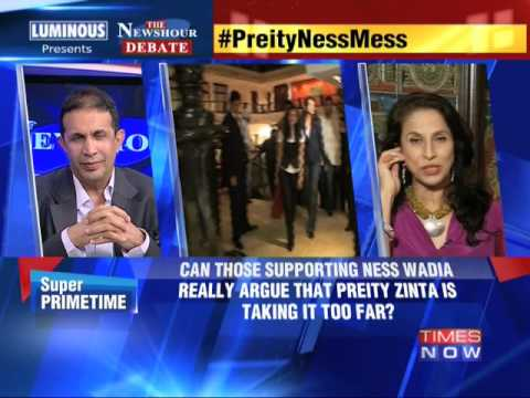 The Newshour Debate: Preity Zinta and Ness Wadia Mess - Part 2 (16th June 2014)