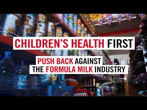Dont push it - why we must stop aggressive marketing of formula milk (10 min, English)