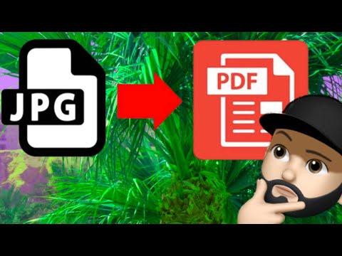 Kako Konvertovati Sliku U Pdf Fajl Youtube