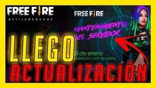 ya LLEGO la NUEVA ACTUALIZACIÓN de FREE FIRE - ENTÉRATE de TODO lo NUEVO