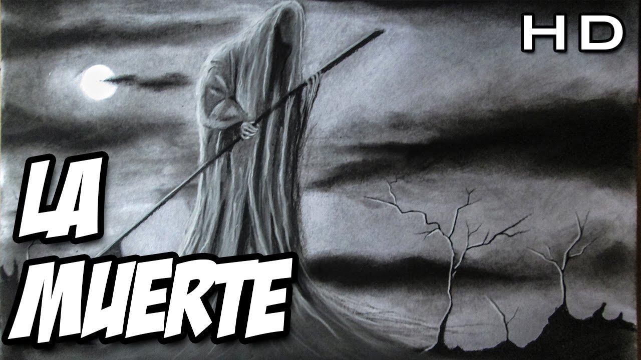Dibujando A La Muerte Terrorífico Dibujo De La Muerte Terror Al
