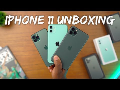 iPhone 11 Unboxing - All The Green Models!