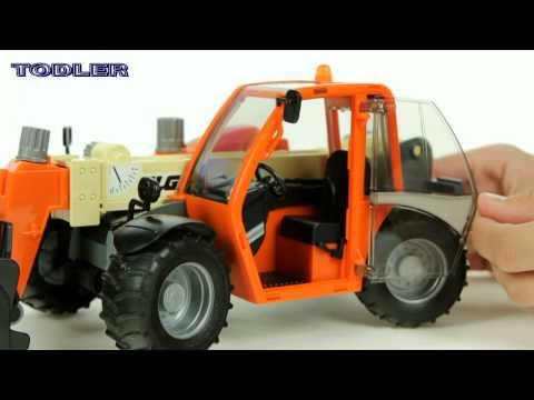 Bruder 02140 JGL 2505 Telehandler REVIEW