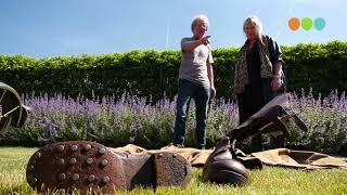 Mensen met een bijzondere hobby:   Johan van Dijk, oude motoren
