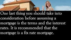 Assuming A Mortgage, What To Take Into Consideration