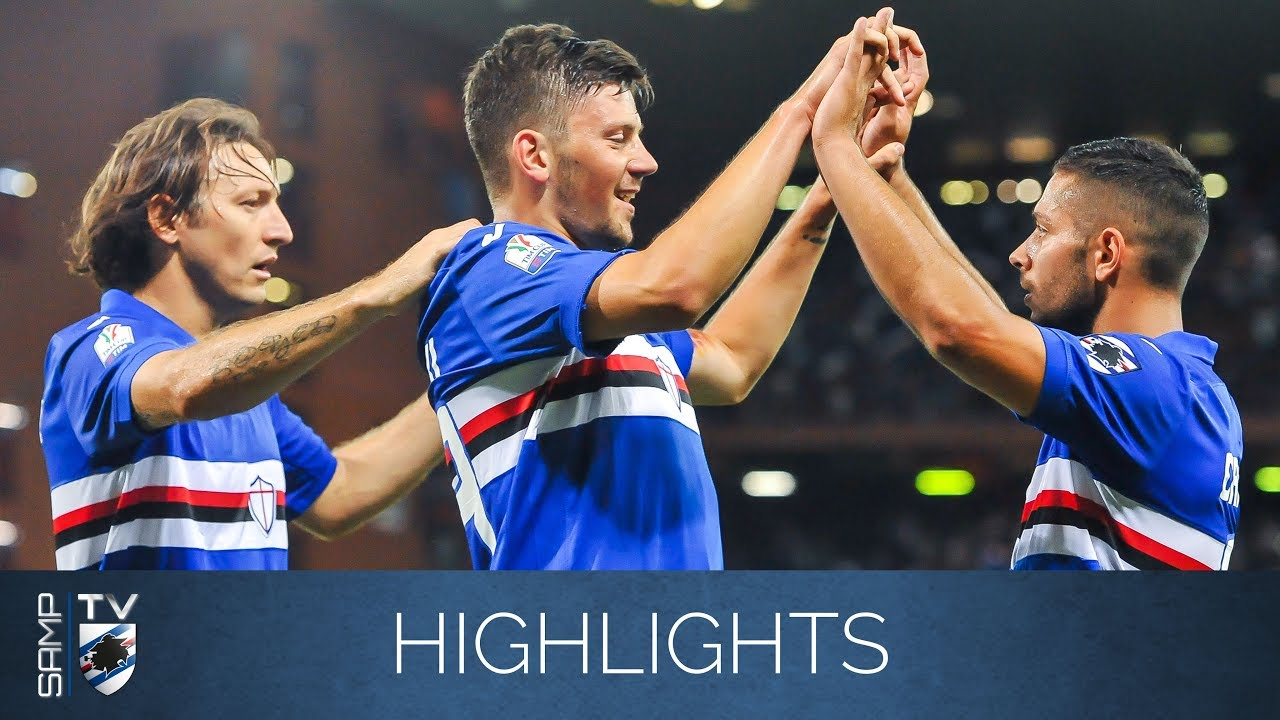 Highlights: Sampdoria-Foggia 3-0