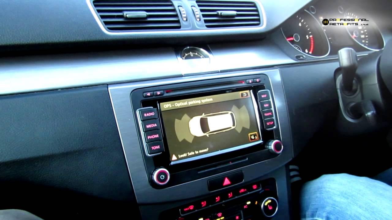2011 vw passat b7 ops retrofit optical parking sensors. Black Bedroom Furniture Sets. Home Design Ideas