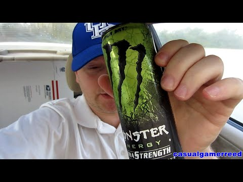Reed Reviews Monster Energy Extra Strength Nitrous Technology Super Dry