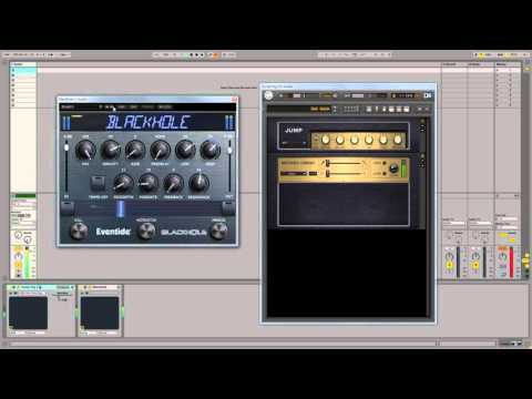 Eventide Blackhole and NI Guitar Rig 5 Ambient Guitar