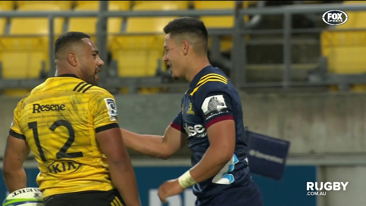 Super Rugby 2019 Round Four: Hurricanes vs Highlanders