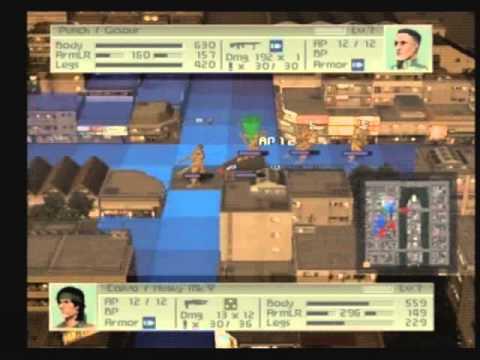 Front Mission 4 Walkthrough 39 - Mission 15 Caracas Escape Part 2