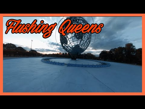 NYC FPV-FLYING INSIDE OF THE GLOBE 🌎