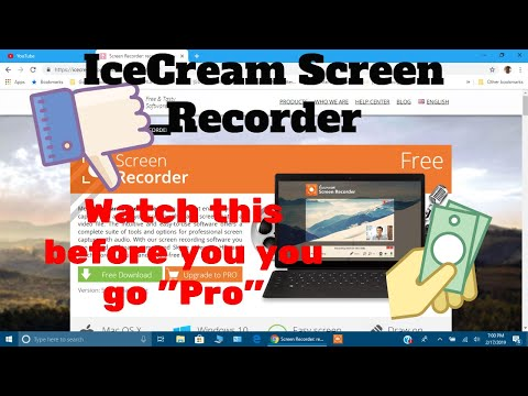 Icecream Screen Recorder Watch Before You Purchase Pro
