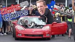 Cleetus And Cars Houston GOT WILD August 2019! Definitely Don't Want To Miss This Action!