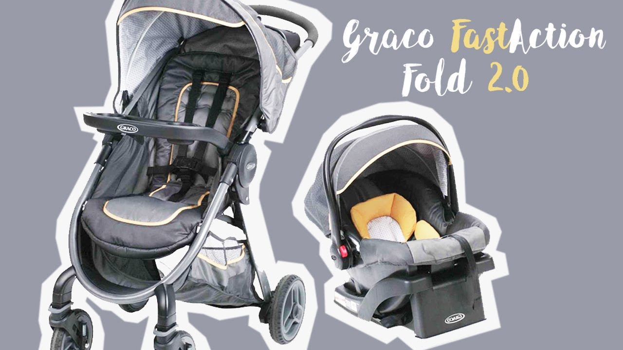 79b4fe905 Graco FastAction 2.0 Travel System How-To and Review - YouTube