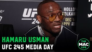 Kamaru Usman doesn't believe UFC 245 fight with Colby Covington will be close