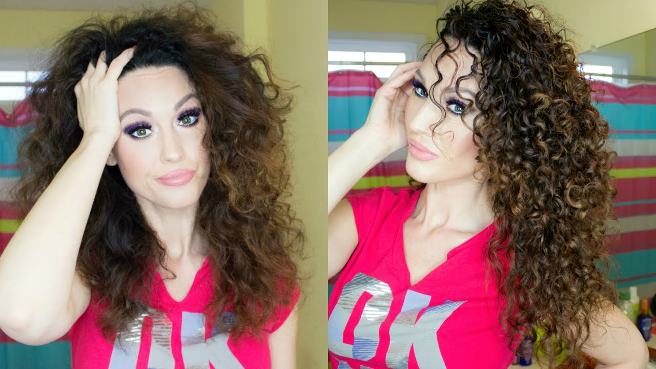 Hair treatment for dry frizzy curly hair